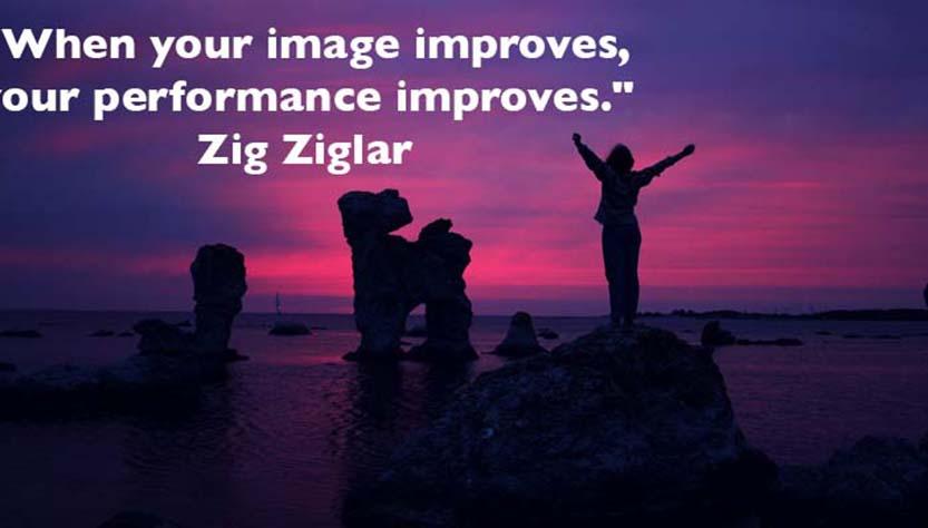 Zig Ziglar Self Talk Card